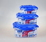3 in 1 Set Kitchware Vacuum Container Food Fresh Boxes
