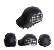 Motor Helmet Baseball Cap Style Safety Hard Hat Anti-UV  silver Black