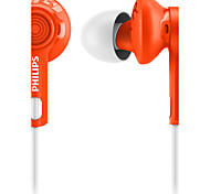 PHILIPS SHQ2300 Earphone For Mobile Phone Cellphone Computer Sports Fitness In-Ear Wired Plastic 3.5mm Noise-Cancelling