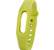 Для xiaomi 1smart часы резиновые полосы weistband фиолетовый / зеленый