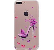 Для iphone 7 плюс 7 корпус телефона красная обувь модель мягкий материал для телефона tpu телефон 6s плюс 6 плюс 6s 6 se 5s 5