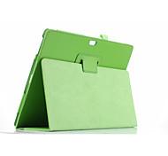 Для крышки корпуса с подставкой флип корпус корпуса сплошной цвет мягкая кожа pu для поверхности microsoft3 10,8 ''