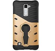 Для lg k10 k8 крышка корпуса 360 градусов вращение броня броня броня броня телефон случай k7 v20 g6 x сила x стиль