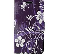 Для samsung galaxy a5 2017 a3 2017 чехол для крышки пурпурный корпус для орхидей с картой и кабиной a3 2016 a5 2016 a3 a5