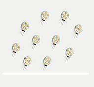 Luci LED Bi-pin 6 SMD 5050 68 lm Bianco caldo Bianco V 10 pezzi