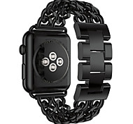 Acero Inoxidable Hebilla Moderna Para Apple Reloj