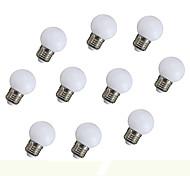 0.5W Lampadine globo LED 6 135 lm Arancione V 10 pezzi