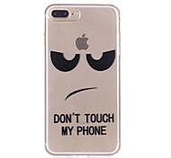 Para iphone 7plus 7 caixa de telefone material tpu caso padrão caso de telefone de alívio 6s mais 6plus 6s 6 se 5s 5