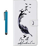 Pour casse couverture carton pleine peau avec stylet plumes dur pu cuir pour apple ipod touch 5 touch 6