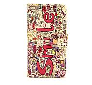 Случай для яблока iphone 7 7 плюс iphone 6s 6 плюс крышка случая улыбка английская картина pu кожаные случаи для iphone se 5s 5c 5 iphone