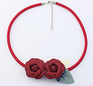 Choker Necklaces Elegant Flowers Ladys Girls Daily Statement Jewelry For Beach