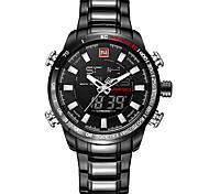 Муж. ДетскиеСпортивные часы Армейские часы Нарядные часы Модные часы Имитационная Четырехугольник Часы Наручные часы Часы-браслет
