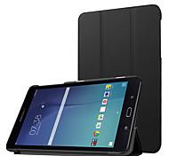 для Samsung Galaxy Tab, е 8.0 t377v роскошь ультра тонкий искусственная кожа стенд случай, кожаный PU защитный чехол оболочки