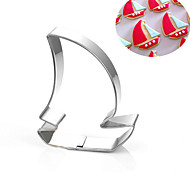 Sailboat Corsair Pirate Ship Cookies Cutter Stainless Steel Biscuit Cake Mold Metal Kitchen Fondant Baking Tools