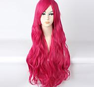 Lolita Wigs Sweet Lolita Fuschia Lolita Long Curly Lolita Wig 85 CM Cosplay Wigs Wig 147