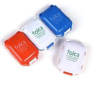 1 Stück Reisemedikamentenbox Reisemedizin Box / Etui Feuchtigkeitsundurchlässig Wasserdicht Tragbar Staubdicht für