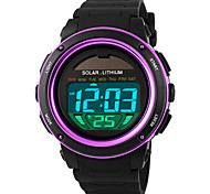 SKMEI® 1096  Men's Woman Solar ElectronicWatches Outdoor Sports Waterproof Sports Electronic Watches 50 Meters Waterproof
