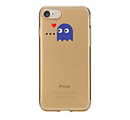 Case For IPhone 7 6 Cartoon TPU Soft Ultra-thin Back Cover Case Cover iPhone 7 PLUS 6 6s Plus SE 5s 5 5C 4S 4