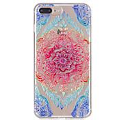 Для iphone 7plus 7 tpu материал кружево цветы модель рельефный телефон корпус 6s плюс 6plus 6s 6 se 5s 5