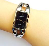 Women's Ladies' Wrist watch Quartz Alloy Band Sparkle Bangle Casual Silver