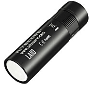 Nitecore® LA10 LED Flashlights/Torch LED 135 Lumens 3 Mode Cree AA Dimmable / Rechargeable / Compact SizeCamping/Hiking