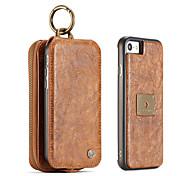 Для iphone 7 плюс 7 6s плюс 6 плюс 6 6s caseme ретро сплит кожаный многослотовый кошелек чехол кожаная сумка