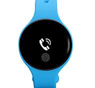 Men's Fashion Watch Digital Rubber Band Black Blue