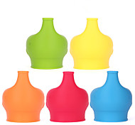 Children 's Drinking Fruit Juice Supplement Food Anti - Overflow Cup Sets Of Silicone Can Stretch Leak - Proof Lid Lid Ceramic Glass Lid