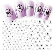 1pcs Fashion Beautiful Flower Decoration Nail Art 3D Stickers Sweet Style DIY Beauty Design F110