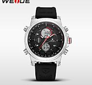 WEIDE Men's Sport Watch Dress Watch Fashion Watch Digital Watch Japanese Quartz DigitalCalendar Water Resistant / Water Proof Dual Time