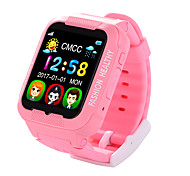 iPS-A03G Kids GPS Tracker MTK2503 Smart Watch  2.5D Touch Screen With Camera Real Time Monitor Children's Waterproof AGPS LBS Positioning  Watch