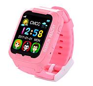 Детские часыЗащита от влаги Израсходовано калорий Педометры Фотоаппарат Сенсорный экран Регистрация дистанции GPS игра