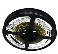 72W Tiras LED Flexibles 7100-7200 lm DC12 V 5 m 600 leds Blanco cálido Blanco
