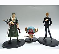 Аниме Фигурки Вдохновлен One Piece Tony Tony Chopper ПВХ 26 См Модель игрушки игрушки куклы