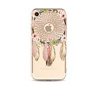 Чехол для iphone 7 плюс 7 обложка прозрачный узор задняя крышка чехол мечта ловца мягкий tpu для apple iphone 6s плюс 6 плюс 6s 6 se 5s 5c