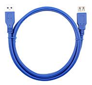 USB 3.0 Удлинитель, USB 3.0 to USB 3.0 Удлинитель Male - Female 0.6м (2FT)