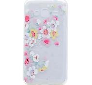 Case for Samsung Galaxy Grand Prime G530 Core Prime G360 Cover Translucent Pattern Cherry Blossom Soft TPU Case