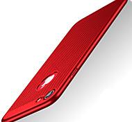 Назначение iPhone X iPhone 8 Чехлы панели Ультратонкий Задняя крышка Кейс для Сплошной цвет Твердый пластик для Apple iPhone X iPhone 8