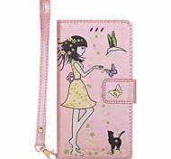 Case for moto g5 plus g5 чехол чехол карта держатель кошелек с подставкой свечение в темном флип-чемоданном случае сексуальная леди