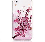 Чехол для huawei p9 lite p8 lite кейс крышка цветок образец высокая проницаемость tpu материал imd технология флеш-накопитель телефон
