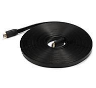 HDMI 1.4 Cable, HDMI 1.4 to HDMI 1.4 Cable Macho - Macho 5,0 m (16 pies)