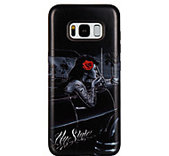 Case For Samsung Galaxy S8 S8 Plus Case Cover Car Girl Pattern PC TPU Combo Strong Relief Drop Phone Case For Galaxy S7 S7 Edge S6 S6 Edge