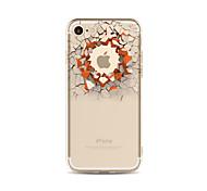 Чехол для iphone 7 плюс 7 крышка прозрачный узор задняя крышка чехол 3d мультфильм стена мягкая tpu для apple iphone 6s плюс 6 плюс 6s 6