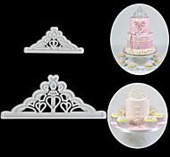 2 предмета Десерт Декораторы Прочее Повседневное использование Пластик Инструмент выпечки