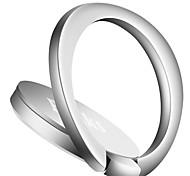 Стенд / крепление для телефона Автомобиль Стол Кровать Кольца-держатели Поворот на 360° Регулируемая подставка Магнитный Металл for