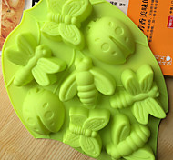 Cake Molds Novelty Cooking Utensils Bread Chocolate Cake Silica Gel Baking Tool Creative Kitchen Gadget High Quality Random Color