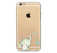 Чехол для iphone 7 плюс 7 крышка прозрачный узор задняя крышка чехол слон мягкий tpu для iphone 6s плюс 6 плюс 6s 6 se 5s 5c 5 4s 4