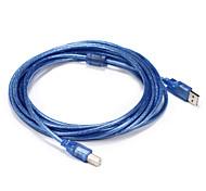 USB 2.0 Кабель, USB 2.0 to USB Type B Кабель Male - Male 5.0m (16ft)