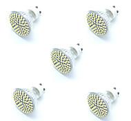5pcs 5W GU10 LED Spotlight 72 SMD 2835 Warm/ Cool White Decorative Led Lamp Lampada LED Bulb Energy Saving Home Light AC220-240V