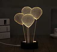 LED Night Light USB огни Декоративное освещение-0.5W-USB Декоративная - Декоративная